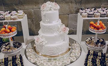 Düğün Pastası- (Butik Tatlılar)